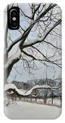 Valley Forge Winter 9 IPhone Case