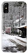 Valley Green In Winter Along Forbidden Drive IPhone Case