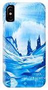 Valley Of The Castles Painting IPhone Case