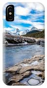 Valley Of The Moose IPhone Case