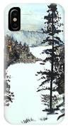 Valley Snow IPhone Case