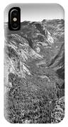 Valley View At Glacier Point IPhone Case