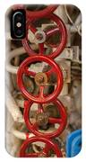 Valves Valves And More Valves IPhone Case