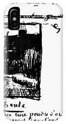 Van Gogh Letter IPhone Case
