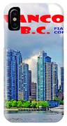 Vancouver Bc Iv IPhone Case