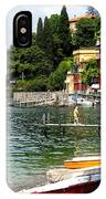 Varenna.lake Como IPhone Case