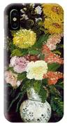 Vase Of Flowers, 1886 IPhone Case