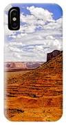 Vast Desert - Monument Valley - Arizona IPhone Case