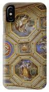 Vatican Ceiling Fresco 2 IPhone Case
