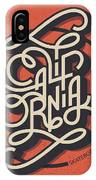 Vector Illustration, Vintage Lettering IPhone Case