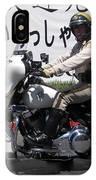 Vegas Motorcycle Cop IPhone Case
