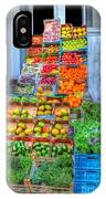 Vegetable And Fruit Stand IPhone Case