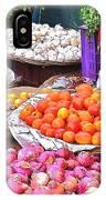 Vegetable Vendor - Omkareshwar India IPhone Case