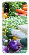 Vegetables Stand In Wet Market IPhone Case
