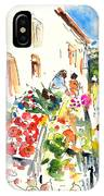 Velez Rubio Market 03 IPhone Case