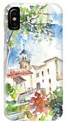 Velez Rubio Townscape 01 IPhone Case
