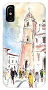 Velez Rubio Townscape 02 IPhone Case