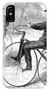 Velocipedes, 1868 IPhone Case