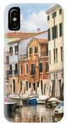 Venetian Apartments Impasto IPhone Case