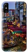 Venetian Grand Canal At Dusk IPhone Case