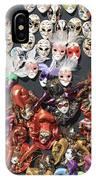 Venetian Masks IPhone Case