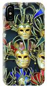 Venetian Opera Masks IPhone Case