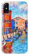 Venezia Colorful Burano IPhone Case