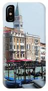 Venice Gondolas On Canal Grande IPhone Case