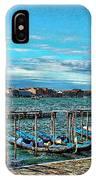 Venice Gondolas On The Grand Canal IPhone Case