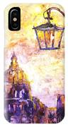 Venice Italy Watercolor Painting On Yupo Synthetic Paper IPhone Case