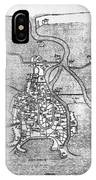 Venice: Map, 12th Century IPhone Case