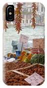 Venice Market IPhone Case