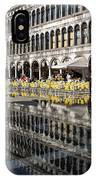 Venice Italy - St Mark's Square Symmetry IPhone Case