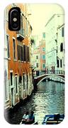 Venice Street Scene IPhone Case