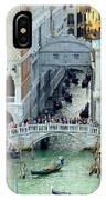 Venice's Bridge Of Sighs IPhone Case