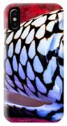 Venomous Conus Shell IPhone Case