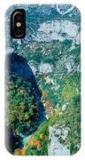 Verdon Gorge In Autumn IPhone Case