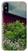 Vermont Covered Bridge IPhone Case