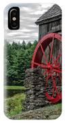 Vermont Grist Mill IPhone Case