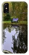 Vermont Pond In Autumn IPhone Case