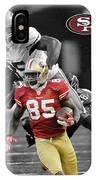 Vernon Davis 49ers IPhone Case