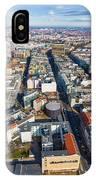 Vertical Aerial View Of Berlin IPhone Case