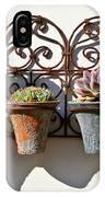 Vertical Cacti Garden IPhone Case