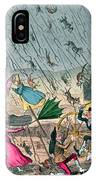 Very Unpleasant Weather IPhone Case