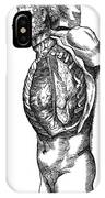 Vesalius: Thoracic Cavity IPhone Case