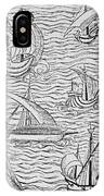 Vessels Of Early Spanish Navigators From The Narrative And Critical History Of American IPhone Case