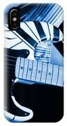 Vh #3 In Blue IPhone Case