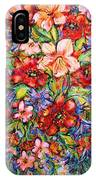 Vibrant Blooms IPhone Case