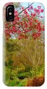 Vibrant Garden  IPhone Case