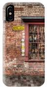 Victorian Corner Shop IPhone Case